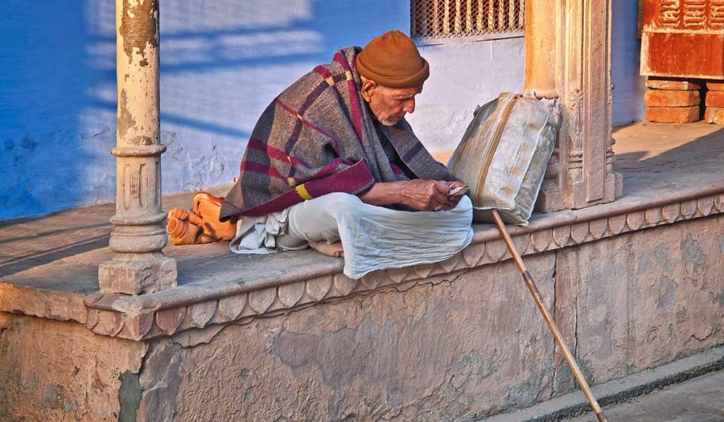 Man person people wood roof old